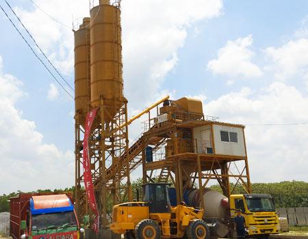Быстромонтируемые бетонные заводы