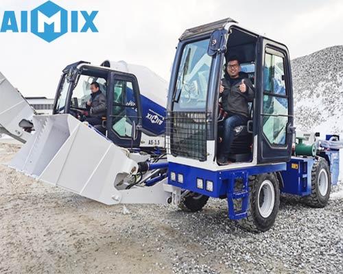 Aimix Автобетоносмеситель с самозагрузкой 3.5куб в Казахстане